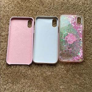 Used iPhone 10 phone cases